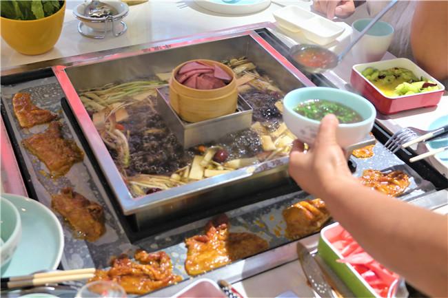 牛浪鸡涮烤一体火锅