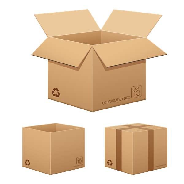 纸箱成品展示