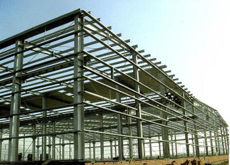 内蒙古第三建筑工程有限公司钢结构分公司合作内蒙古钢结构施工案例