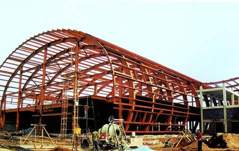 内蒙古第三建筑工程有限公司钢结构分公司与电子信息学院合作