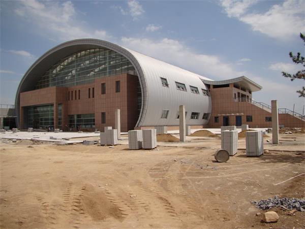 钢结构图书馆建筑工程