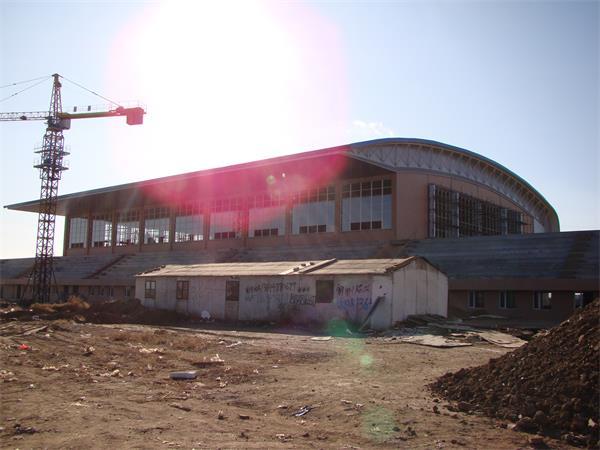 钢结构厂房建筑施工图