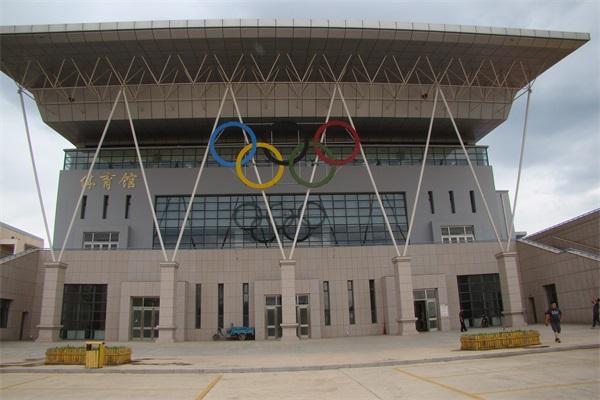 呼市钢结构体育馆项目