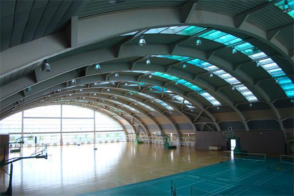 钢结构体育馆工程竣工投入使用情况