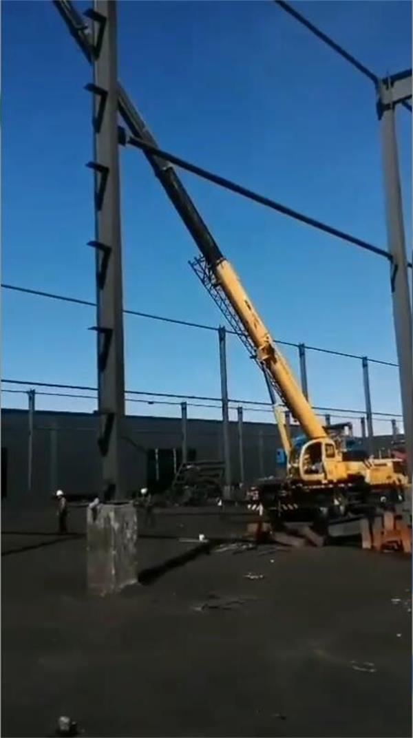 钢结构工地进展情况-3