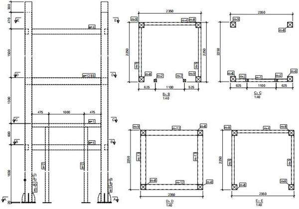 HJ-1构件零件材料基本参数表图表详解