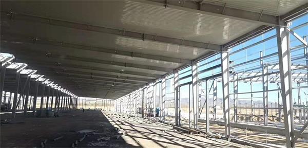 工业厂房轻钢结构建筑工程