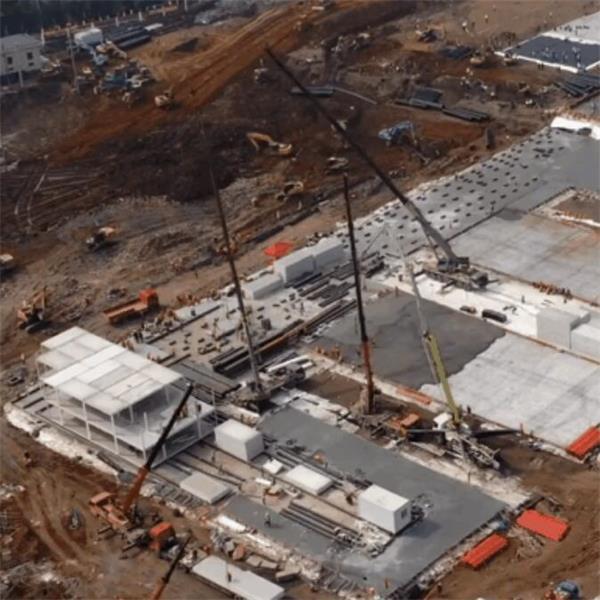 小汤山医院的钢材的施工图-2
