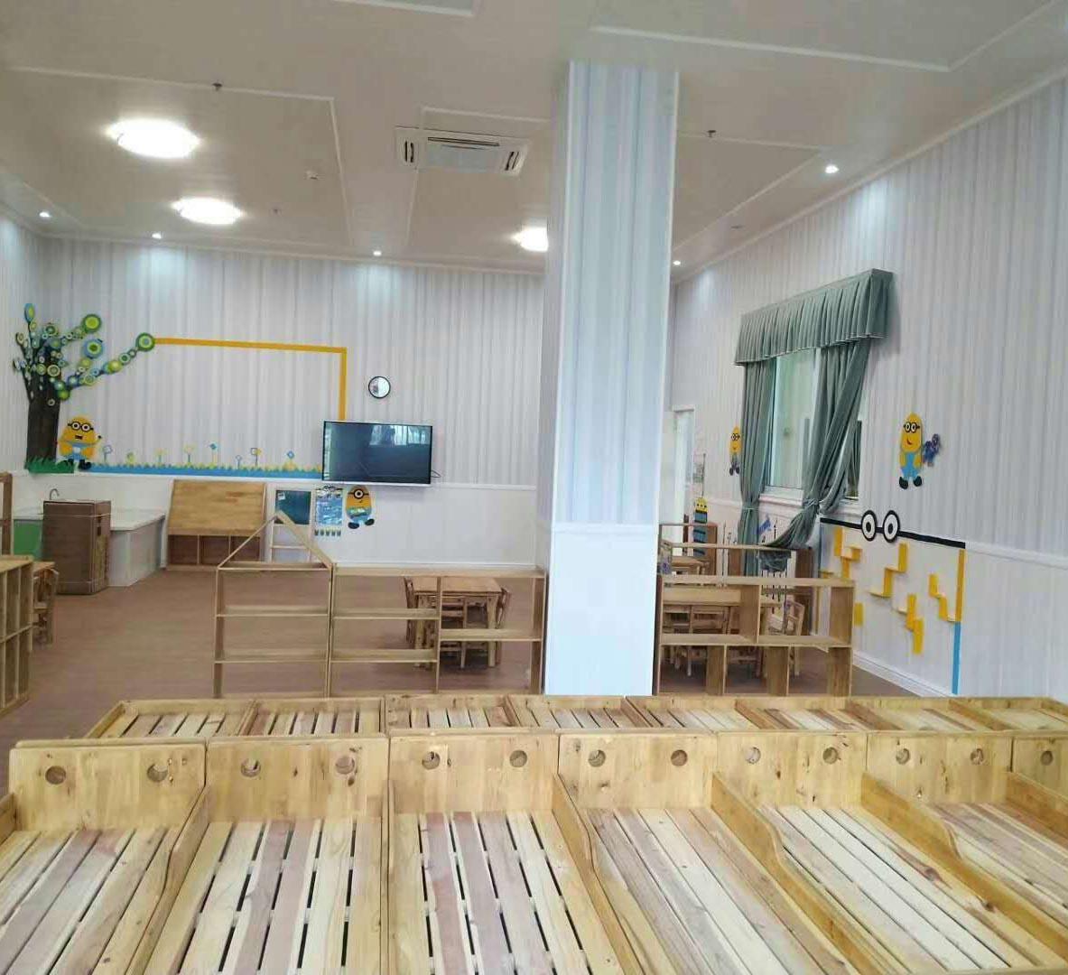 成都幼儿园实木家具案例