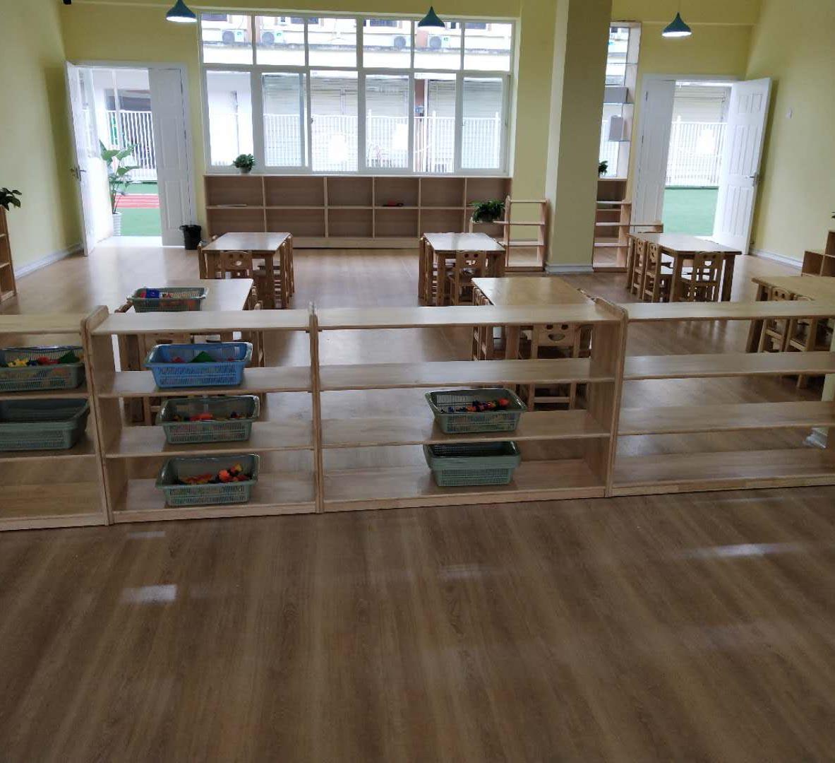 幼儿园实木家具案例