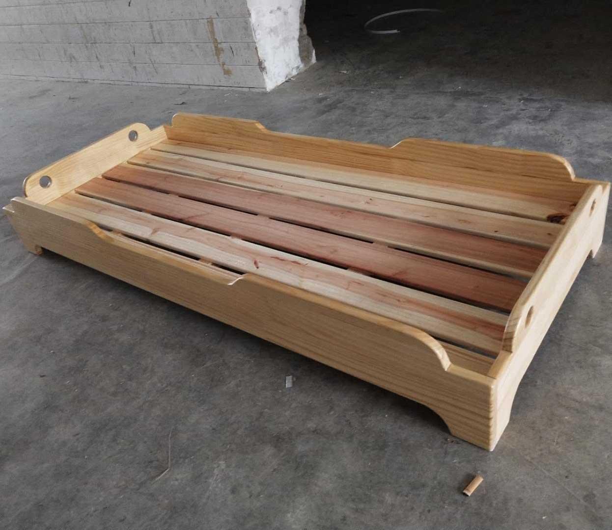 幼儿实木床,重叠床