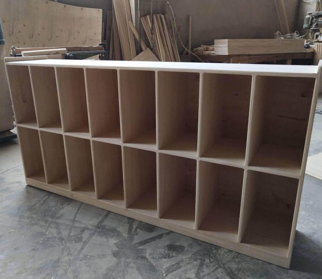 幼儿家具-书包柜