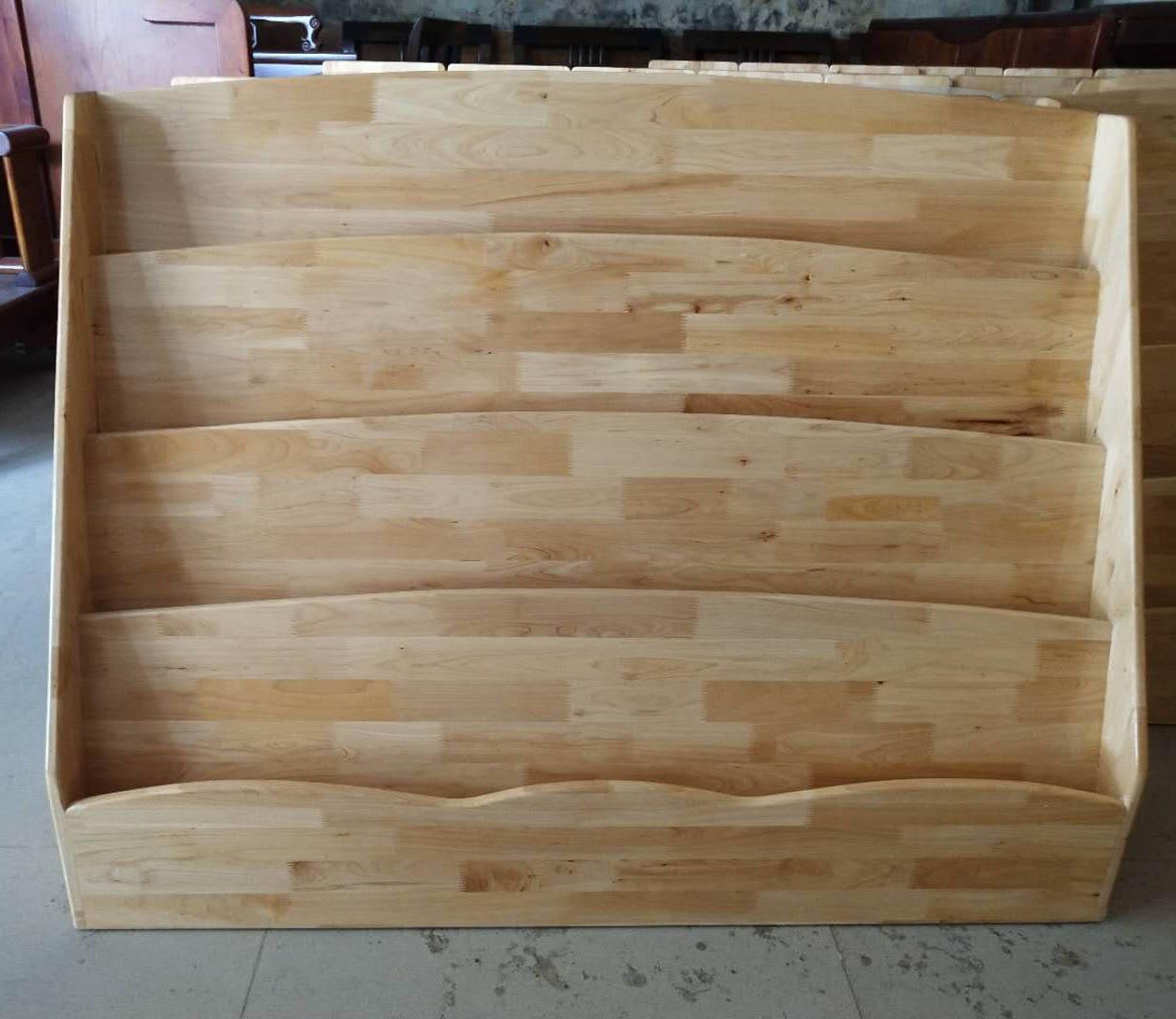 幼儿园实木家具-书架