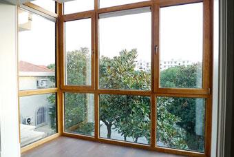 新疆鋁包木門窗