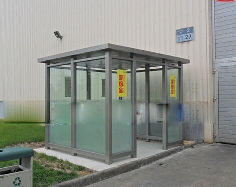成都吸烟亭来告诉你不锈钢材质的和其他材质的吸烟亭的优缺点