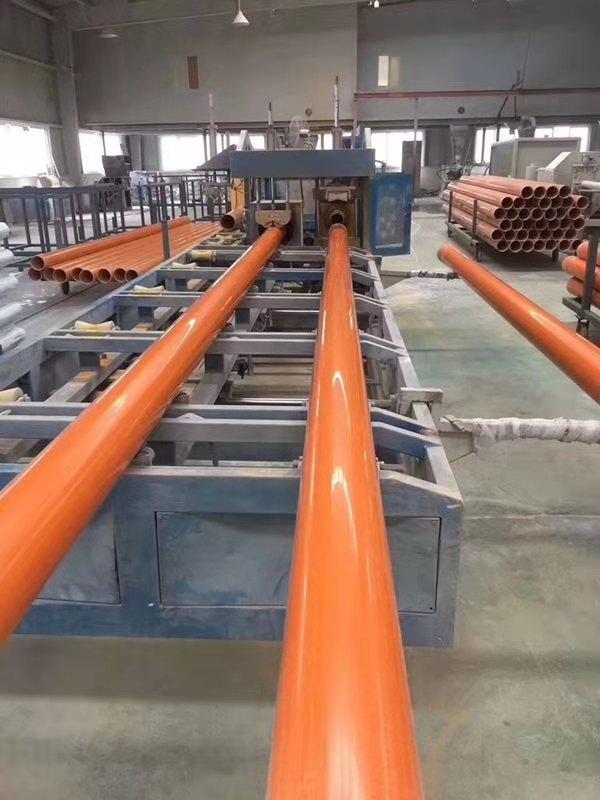 西藏CPVC电力护套管工程案例