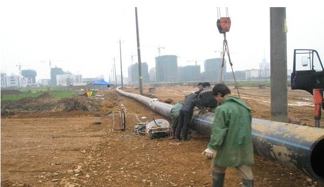 四川PE给水管展示排水工程案列