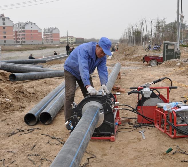 四川PE给水管批发公司展示新疆排水工程案列