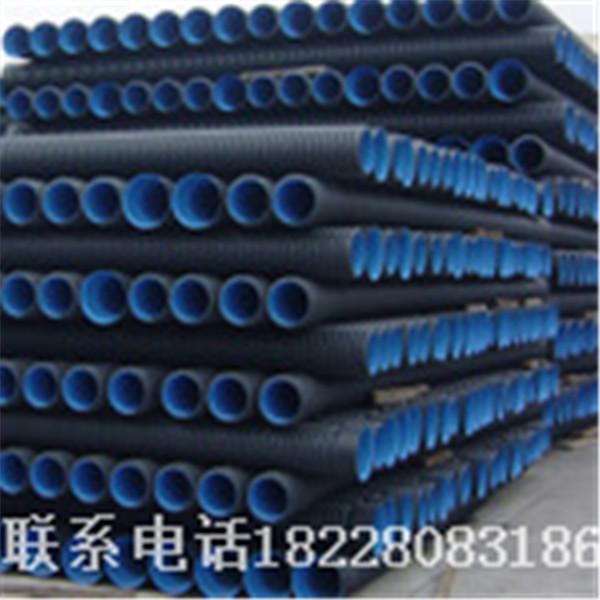 HDPE双壁波纹管生产线视频