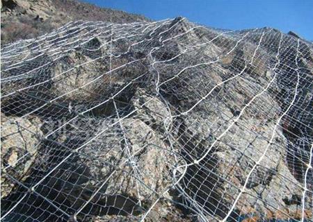 天水山体边坡防护网