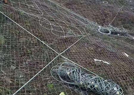 为甘南自治州提供边坡防护网安装工程