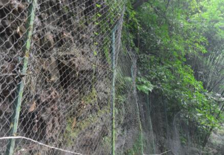 边坡防护网的应用范围