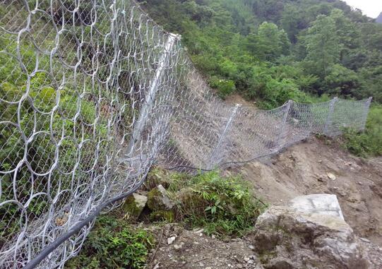 如何安装兰州边坡防护网