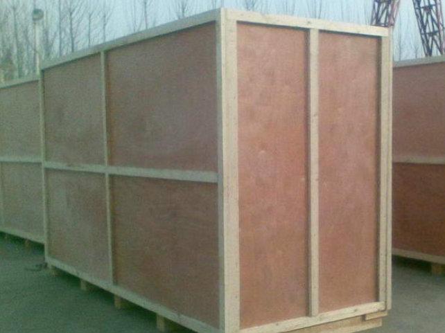 顺丰速运木箱包装案例
