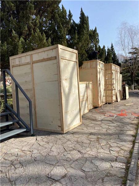 木包装箱物流打包发货