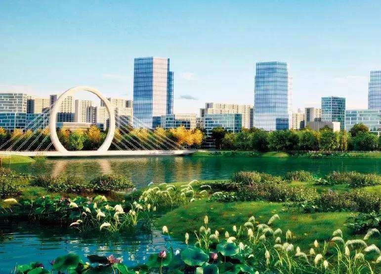 滨河国际新城地标综合体项目