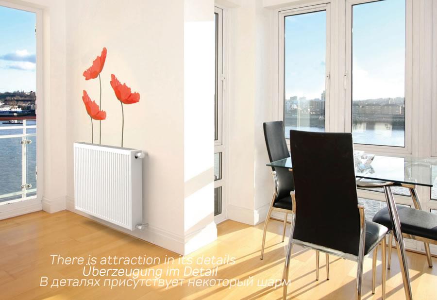 钢质板式散热器