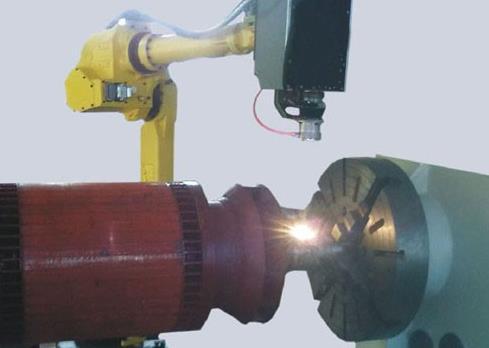 为什么会选择激光熔覆再制造,有什么优点呢?