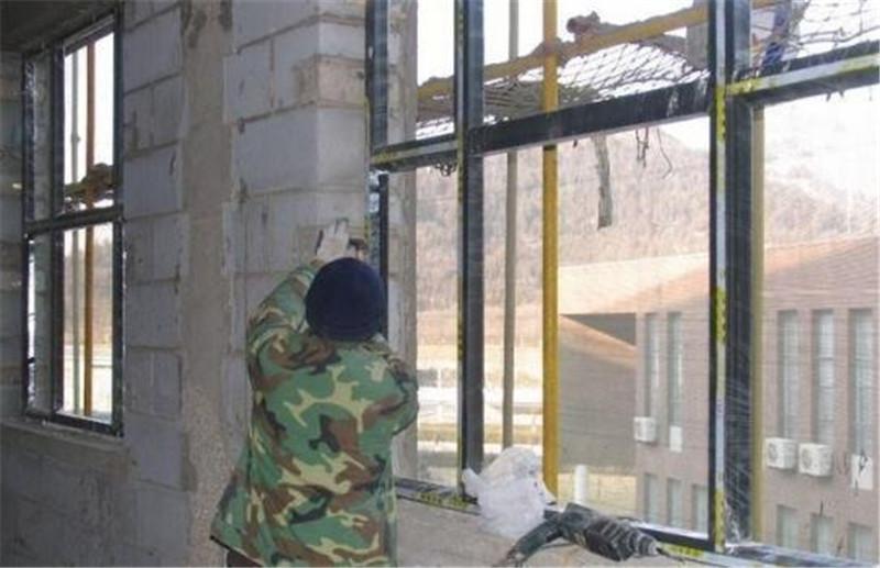 南阳门窗:安装的施工步骤