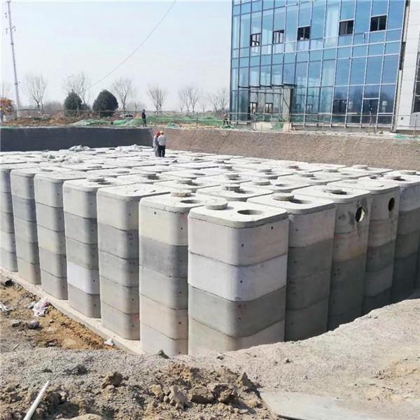 钢筋混凝土消防池