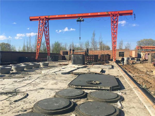 宁夏钢筋混凝土化粪池厂区施工案例