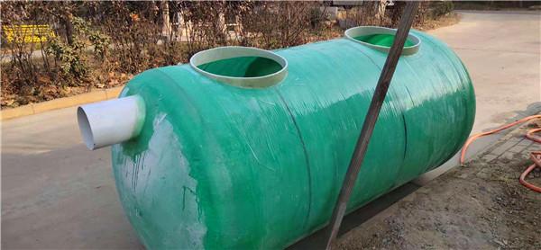为您分享一下玻璃钢化粪池连接管道漏水的检查方法