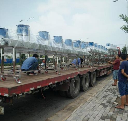 南京科亚装备集团网带式冷却风床流水线项目