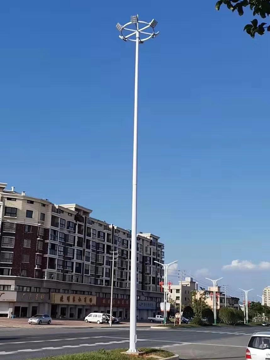 四川农村太阳能公路灯-高杆灯