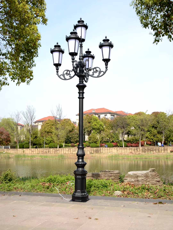四川市电庭院灯