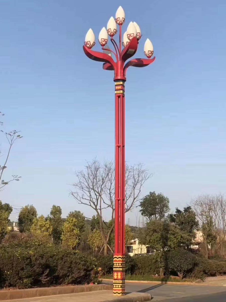 四川市电景观灯