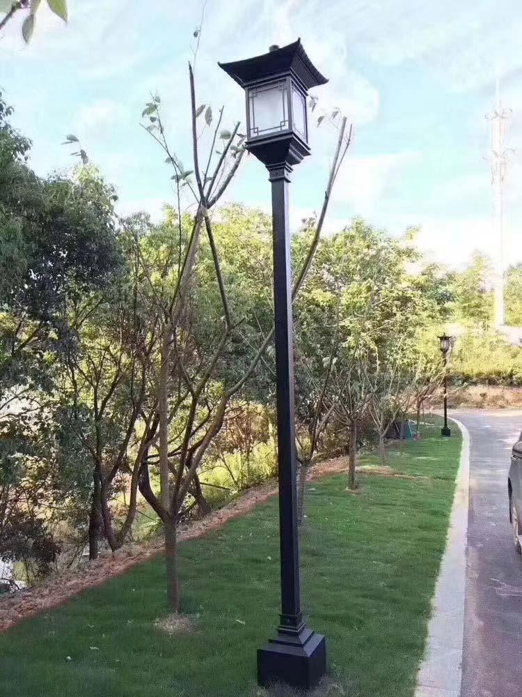 四川市电草坪灯