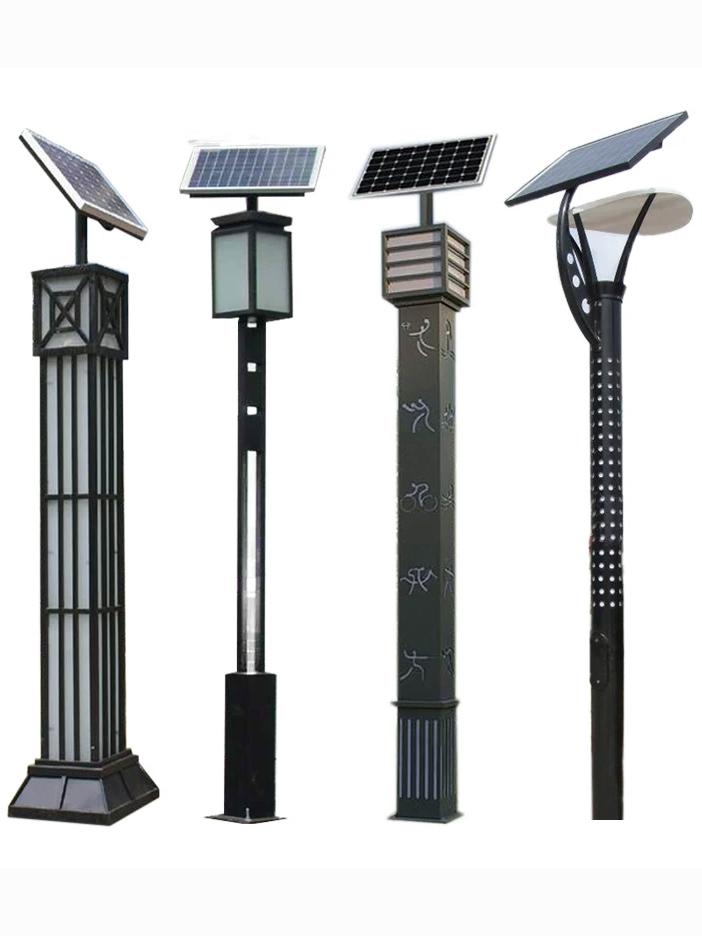 四川太阳能庭院路灯安装