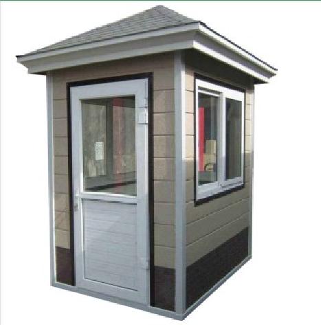 关于金属雕花板岗亭产品规格制作主材与颜色