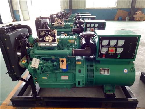 潍柴发电机组启动时排气管无烟的燃油系统因素