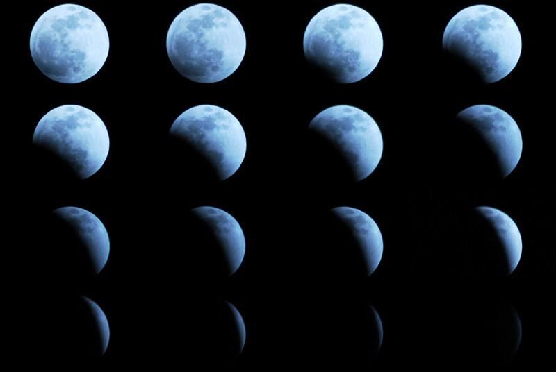 11月30日将发生半影月食天象,我国各地可见带食月出