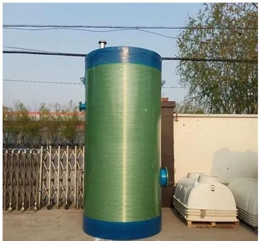 宁夏玻璃钢一体化提升泵站,玻璃钢一体化泵站厂家
