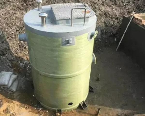 原来玻璃钢一体化提升泵站的特点就是这些呀!