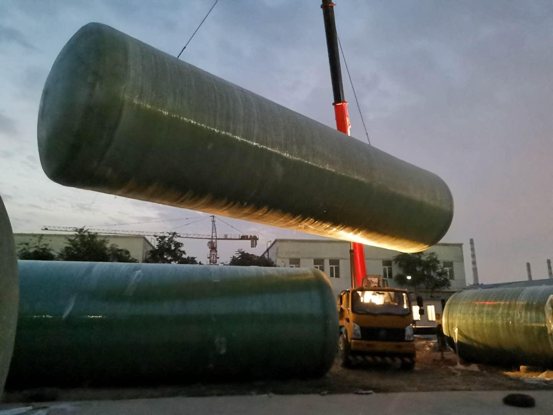 宁夏玻璃钢一体化提升泵站