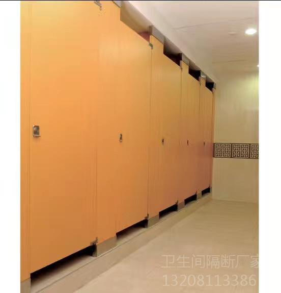 成都学校厕所隔断案例