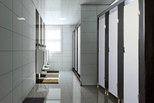 成都卫生间隔断安装的材料及步骤